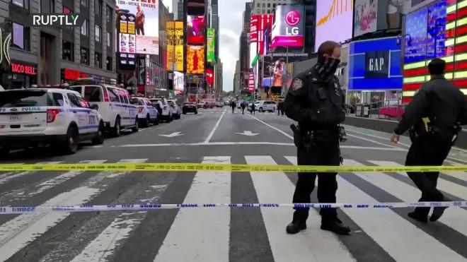 Ηαστυνομίααπέκλεισε για αρκετές ώρες το σημείο όπου έγινε το περιστατικό- Ruptly