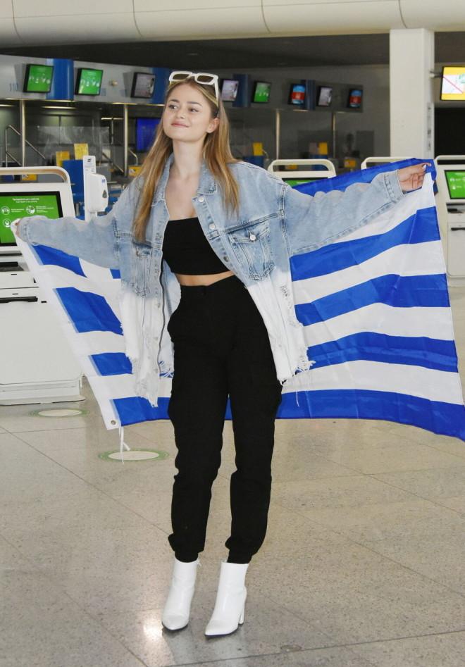 Eurovision 2021 Αναχώρησε για Ρότερνταμ η Stefania