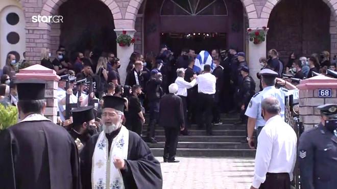 ειδικός φρουρός κηδεία