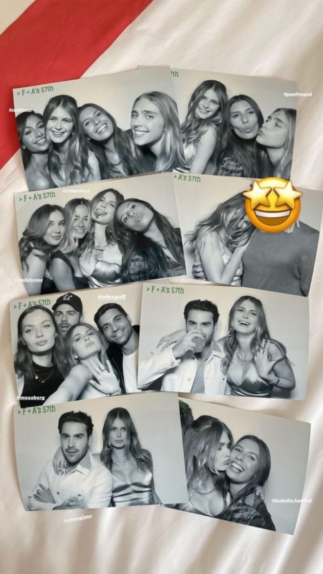 Αμαλία Κωστοπούλου γενέθλια με σύντροφο και φίλους