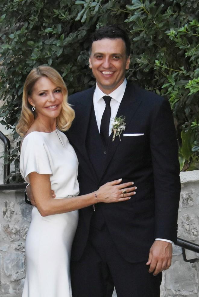 Το ζευγάρι την ημέρα του γάμου του/ NDP Photo