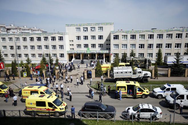 Το σχολείο στο Καζάν της Ρωσίας