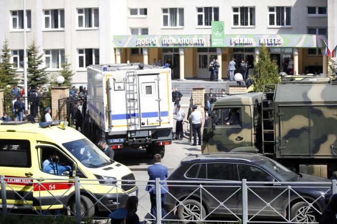 Πυροβολισμοί σε σχολείο στη Ρωσία