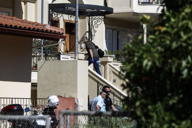 Η μεζονέτα του ζευγαριού στα Γλυκά Νερά, όπου δολοφόνηκε η 20χρονη Καρολάιν από αδίστακτους ληστές- φωτογραφία Eurokinissi