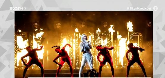 Eurovision 2021: Εκρηκτική επί σκηνής η Έλενα Τσαγκρινού