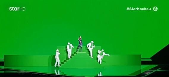 Eurovision 2021: Το τρικ του Φωκά Ευαγγελινού επί σκηνής