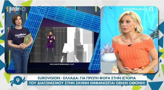 Εμφάνιση Ελλάδας στη Eurovision