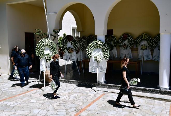 κηδεία Καρολάιν