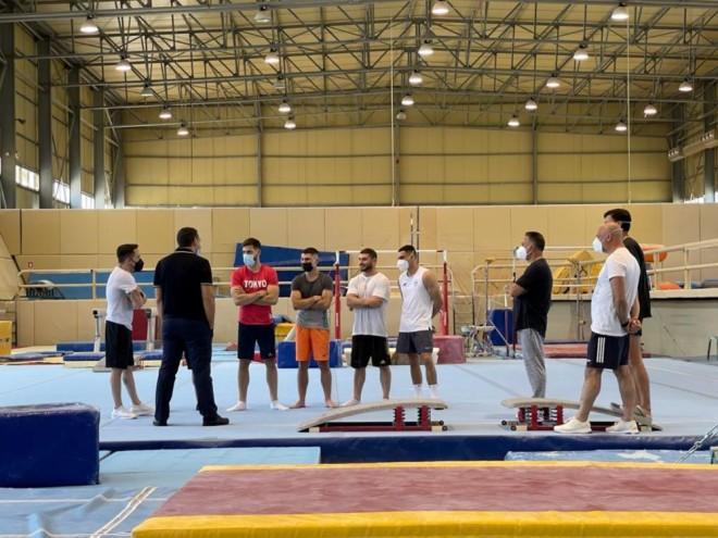 Τσίπρας Πετρούνιας αθλητές ενόργανης γυμναστικής