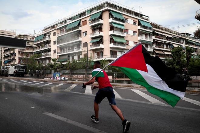 Ένταση έξω από την ισραηλινή πρεσβεία