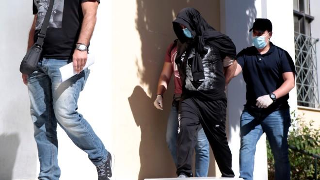 Ο 43χρονος Γεωργιανός που οδηγήθηκε σήμερα στον Εισαγγελέα- φωτογραφία ΙΝΤΙΜΕ