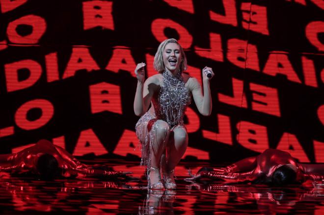 Eurovision 2021: Η εμφάνιση της Έλενας Τσαγκρινού στον Α' ημιτελικό
