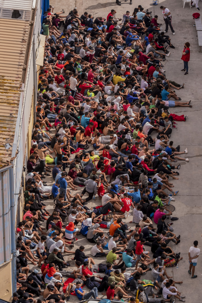 Μετανάστες θέουτα