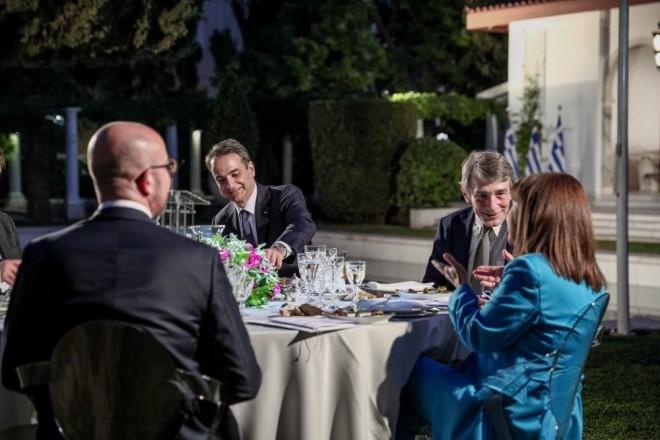 εορτασμός Ελλάδα ΕΕ δείπνο Προεδρικό Μέγαρο