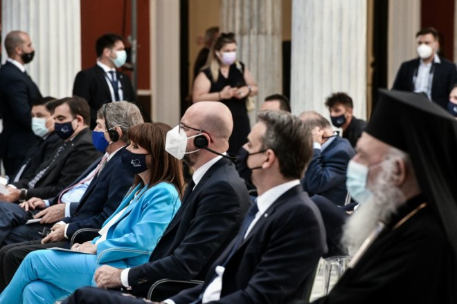 εορτασμός Ελλάδα ΕΕ Ζάππειο προσκεκλημένοι