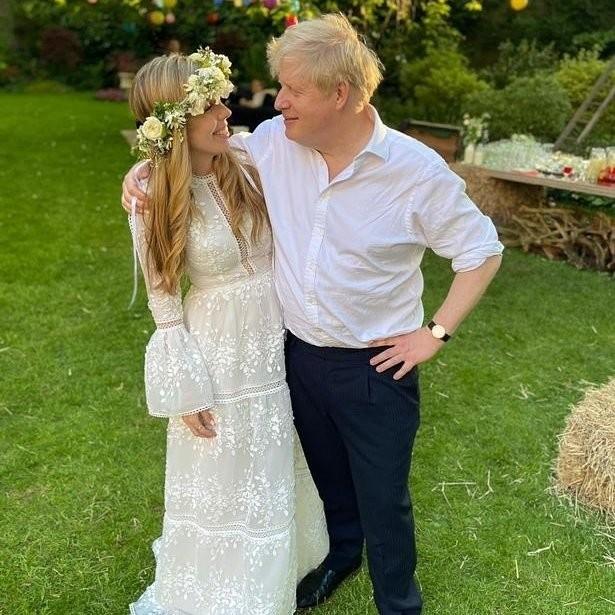 Μπόρις Τζόνσον γάμος