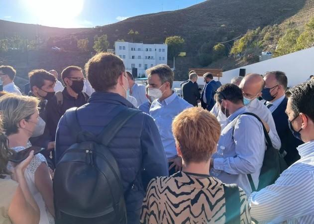 Στιγμιότυπο από την εκδήλωση«Astypalea: smart & sustainable island»