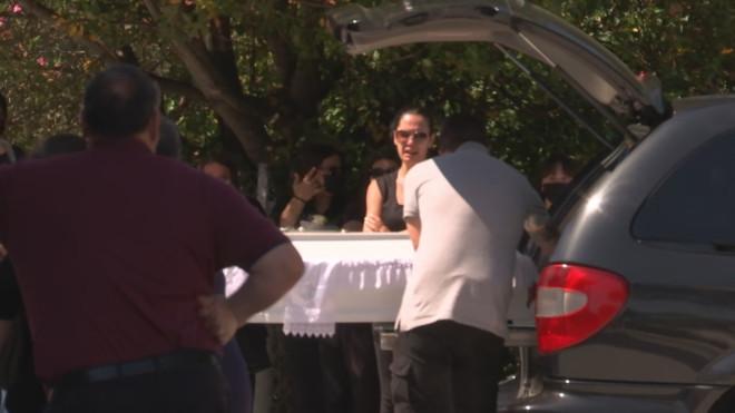 κηδεία Μάλγαρα βρέφος