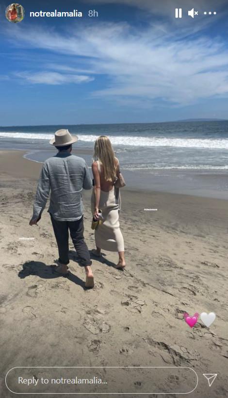 Αμαλία Κωστοπούλου σχέση συντροφος Η φωτογραφία με το αγόρι στη θάλασσα μας μπέρδεψε