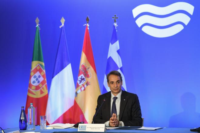 Ο Πρωθυπουργός στην υπουργική Σύνοδο της MED7- φωτογραφία Eurokinissi