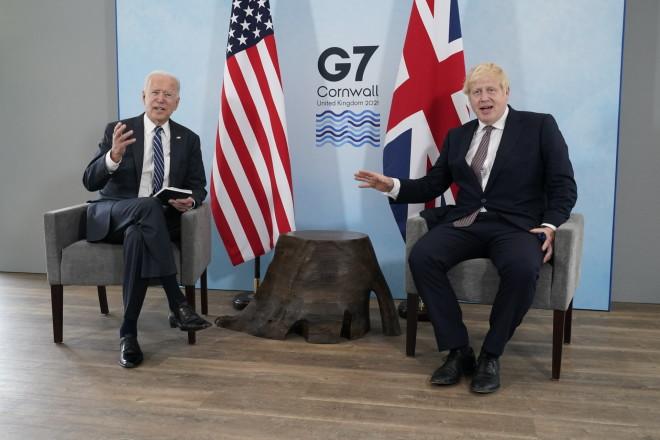 Joe Biden και Boris Johnson