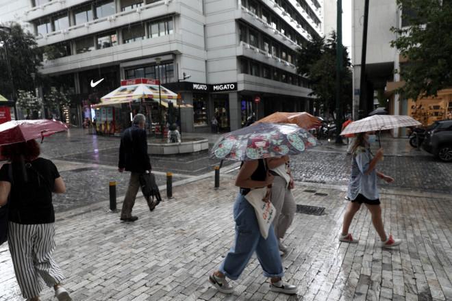 καταιγίδα Αθήνα