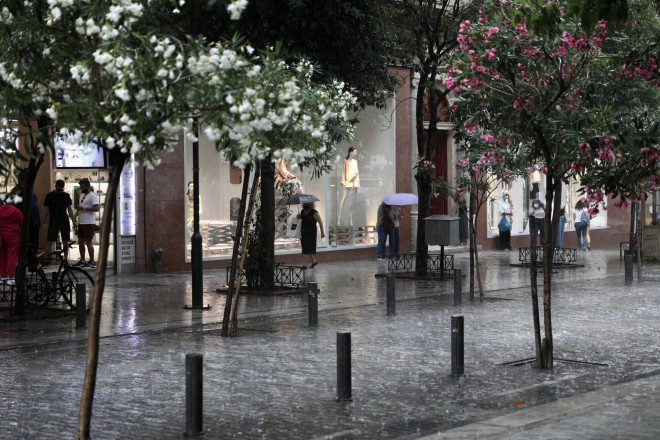 βροχή Αθήνα
