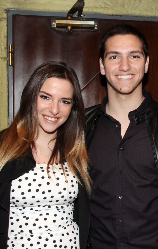 Ο Φίλιππος Κούρκουλος μαζί με την αδερφή του, Εριέττα Κούρκουλου