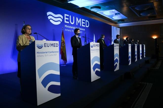 MED 7 σύνοδος Υπουργών στην Αθήνα
