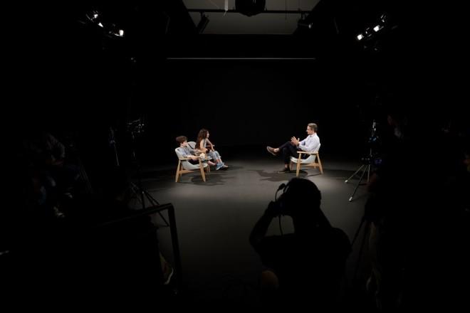 Μητσοτάκης συνέντευξη σε παιδιά της Atraktos Kids