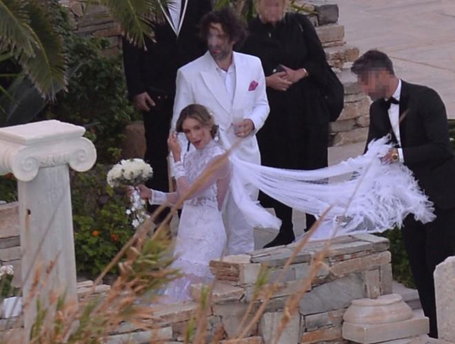 Γάμος Αθηνάς Οικονομάκου Φίλιππου Μιχόπουλου