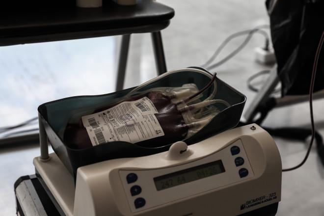 αιμοδοσία μηχάνημα