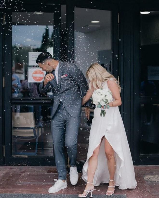 Παντρεύτηκε ο γνωστός μπασκετμπολίστας Κώστας Σλούκας την αγαπημένη του, Μαρία, το Σάββατο.