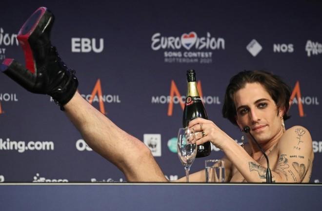 Ο Damiano David και οι Maneskin κατέκτησαν τον 65ο διαγωνισμό της Eurovision