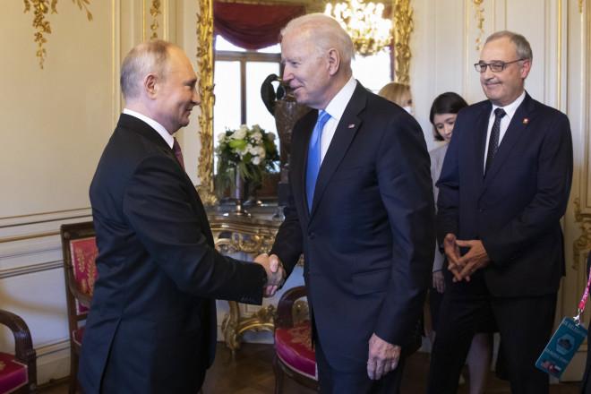 Συνάντηση Μπάιντεν- Πούτιν/ φωτογραφία ΑΡ