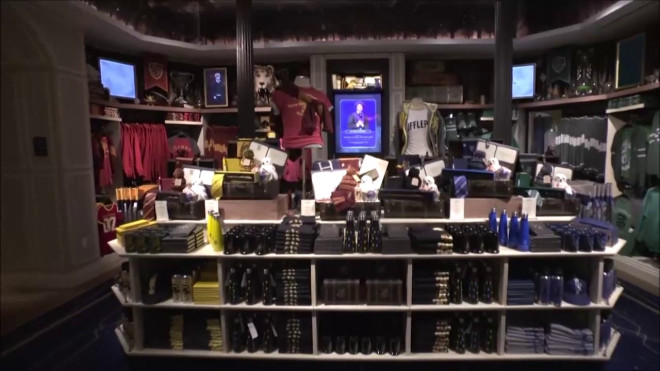 κατάστημα Χάρι Πότερ Νέα Υόρκη