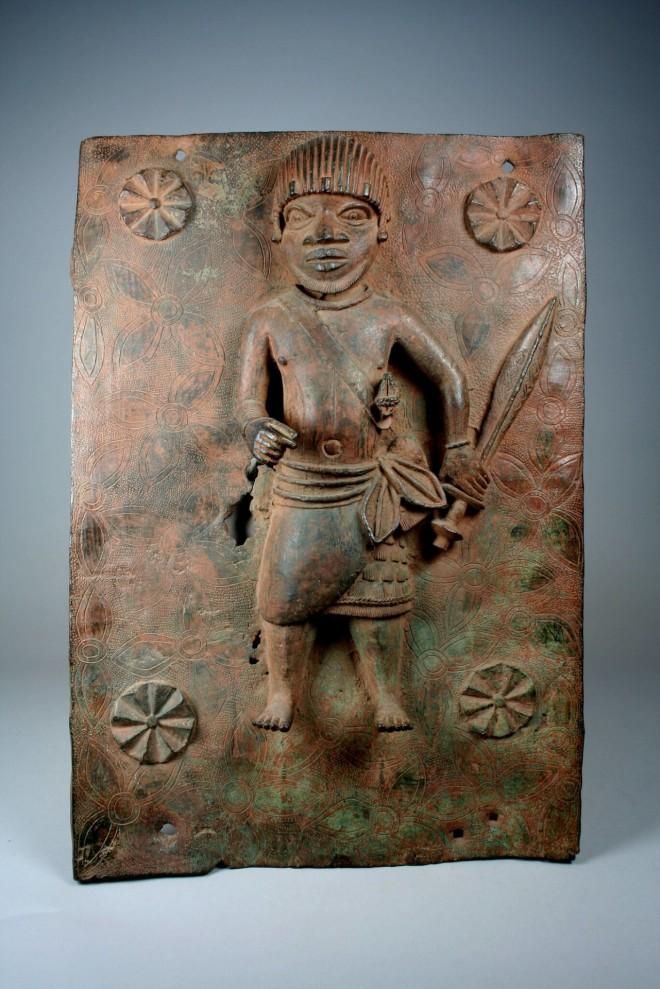 Χάλκινηπλάκα του Μπενίν- πηγή Metropolitan Museum of Art