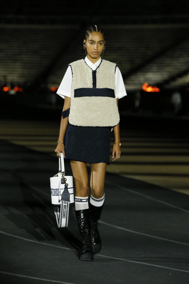 καλλιμάρμαρο ντιόρ πασαρέλα dior fashion show