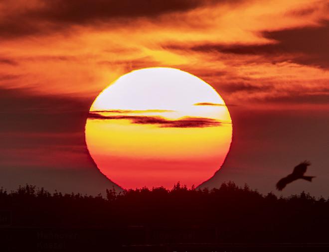ήλιος σε θερινό ηλιοστάσιο