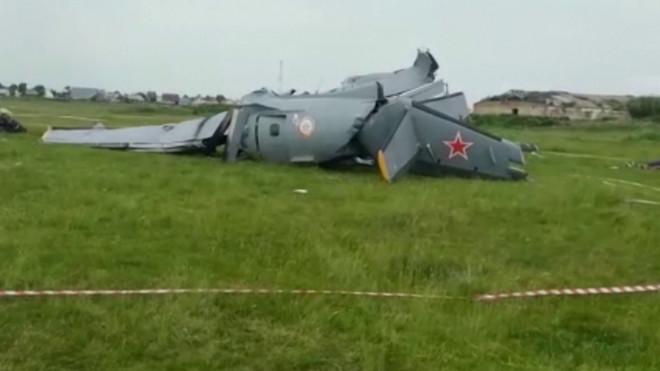 συντριβή αεροσκάφους Ρωσία