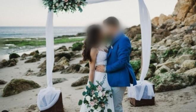 Φωτογραφία από τον γάμο του ζευγαριού στην Πορτογαλία
