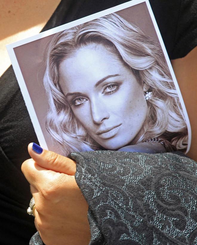 Η Ρίβα Στίνκαμπ, που δολοφονήθηκε από τον σύντροφό της, Όσκαρ Πιστόριους/ ΑΡ