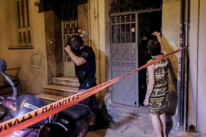 H αστυνομία ερευνά τον χώρο, όπου καταγγέλθηκε ο βιασμός της 50χρονης-Eurokinissi