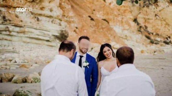 Γλυκά Νερά γάμος Καρολάιν