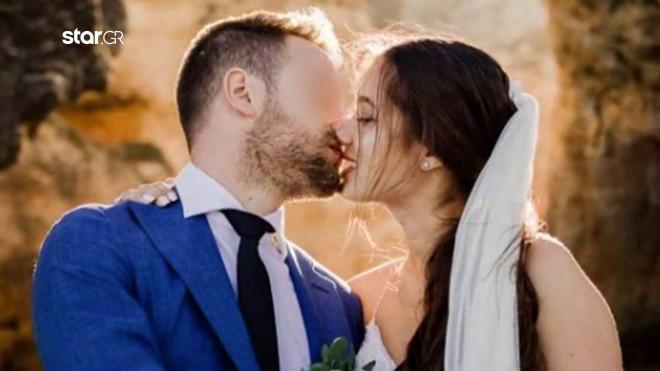 Mπάμπης Αναγνωστόπουλος - Καρολάιν: γάμος