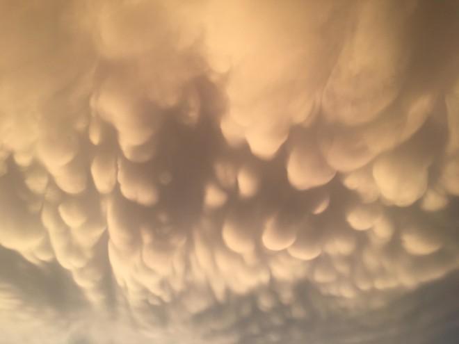 σύννεφα ουρανός Λάρισας