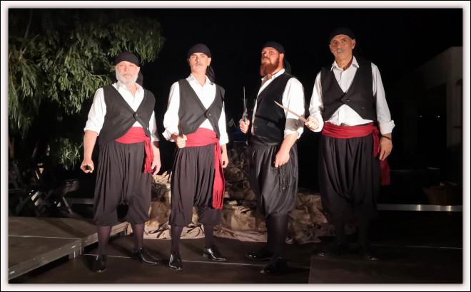 Οι «Κασιώτες Καπεταναίοι» στο Θέατρο της Γκράβας