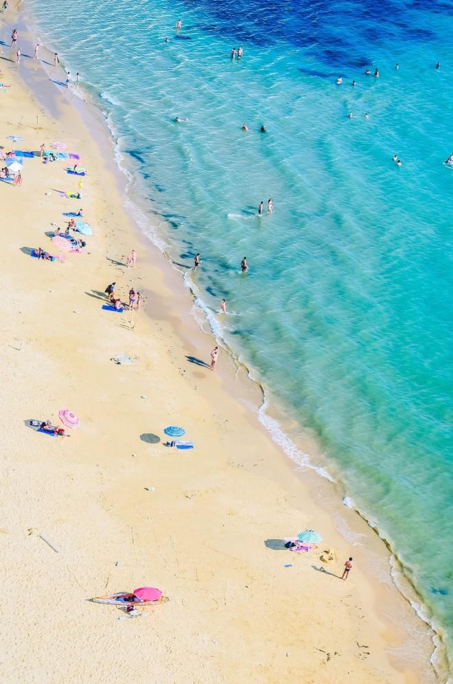 παραλία κόσμος