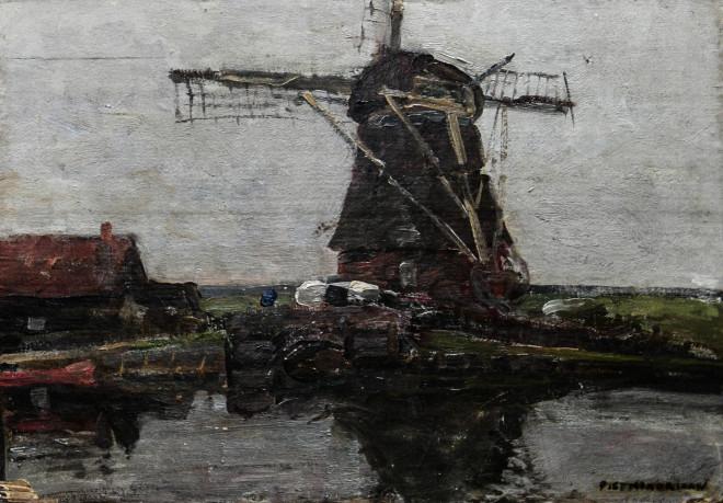 πίνακας Μοντριάν - Εθνική Πινακοθήκη