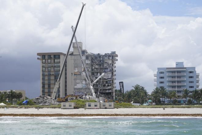 κατάρρευση κτιρίου Μαϊάμι